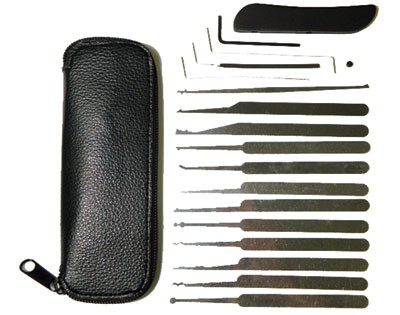 19 Piece Lock Pick Tool Set
