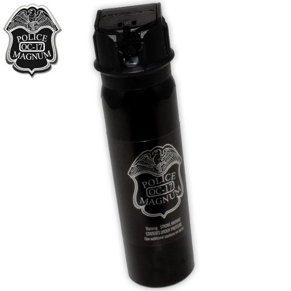4 Ounce Police Foam Flip Top Pepper Spray