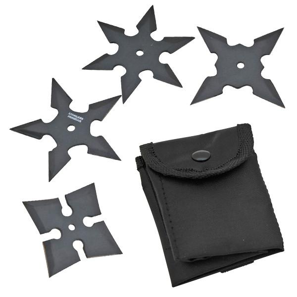4 Piece Star Set, Alpha, Black