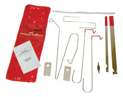 9 Piece Universal Lock Out Kit