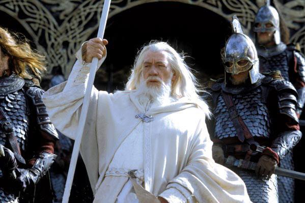White Gandalf Staff, UC1386WTNB