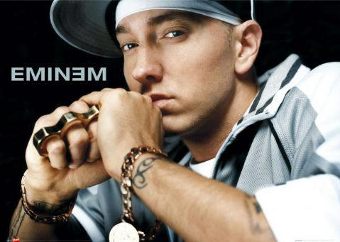 Even Eminem packs brass knuckles!