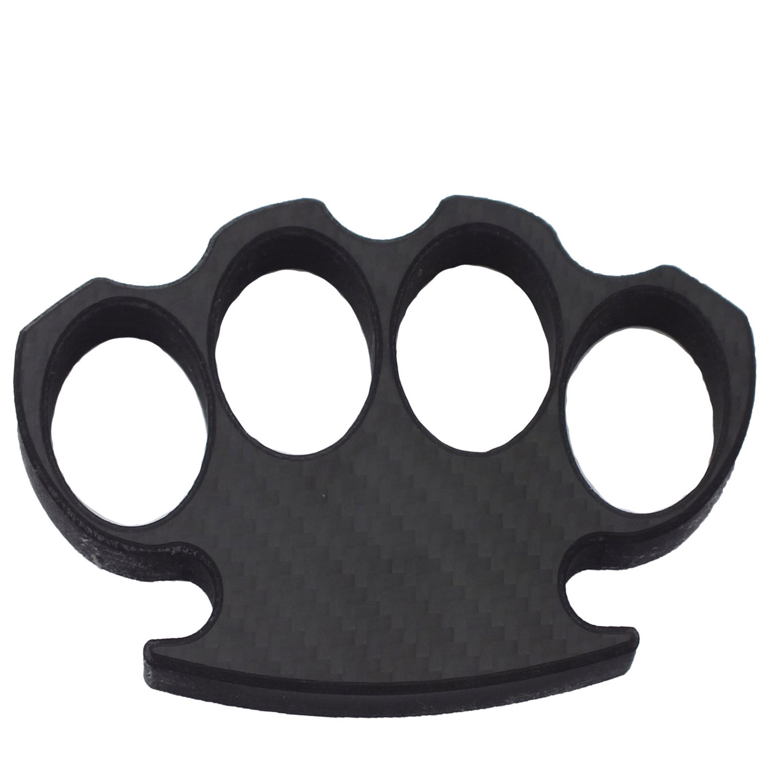 Black Diamond Carbon Fiber Brass Knuckles