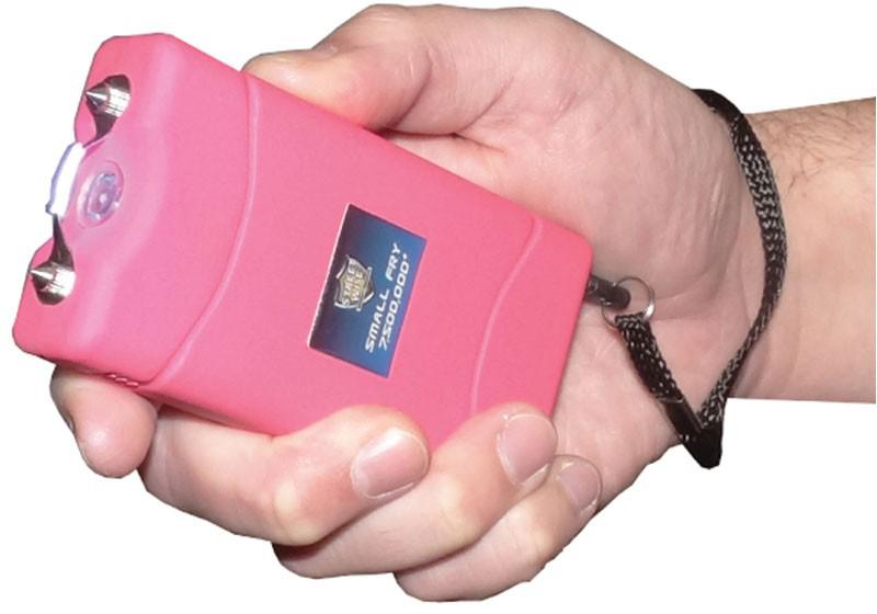 Small Fry 7500000 Stun Gun Rechargeable Pink Sf7500rp