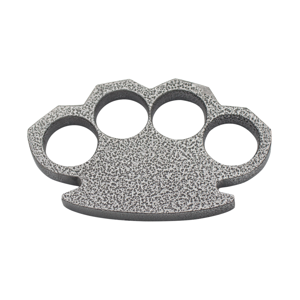 Steam Punk Gray Aluminum Knuckles.