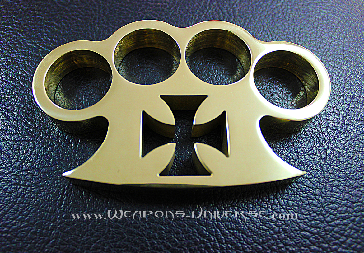 American Made Maltese Brass Knuckles