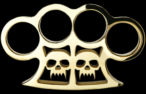 American Made Slayer Brass Knuckles
