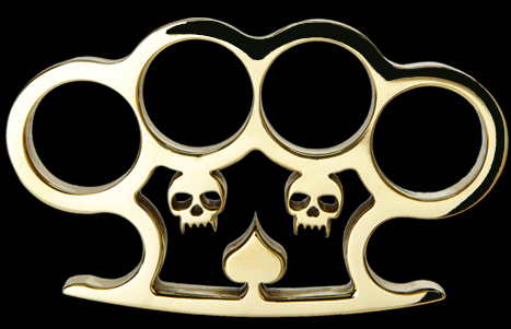 American Made Wicked Brass Knuckles