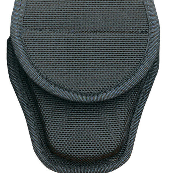 Bianchi BI17390 Covered Handcuff Case Black Size 1 Hook and Loop