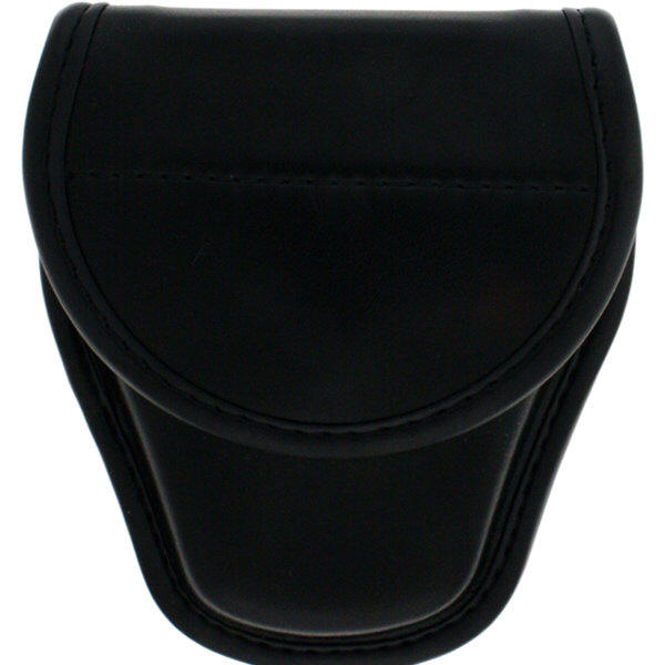 Bianchi BI22062 Covered Cuff Case Plain Black-Size 1 Hidden
