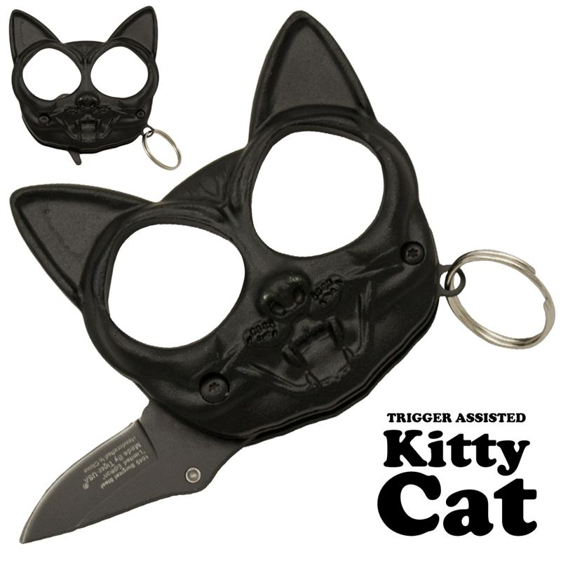 Black Cat Public Safety Jabber and Knife, Black