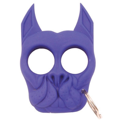 Brutus Self-Defense Keychain ABS Knuckles, Purple