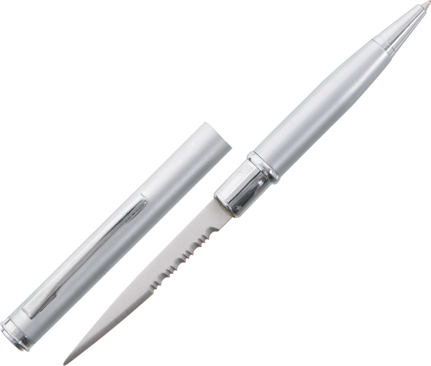 China Made CN210502SL Ink Pen Knife, Silver
