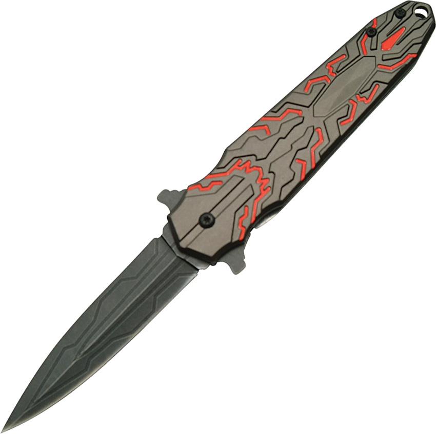 China Made CN300347RD Transform II Linerlock A/O Knife