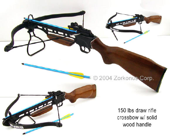Crossbow Rifle, Gun Stock, 150 Pound