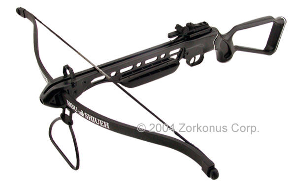 Crossbow Rifle, Hollow Stock, 150 Pound