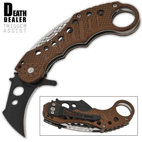 Death Dealer Spring Assisted Knife
