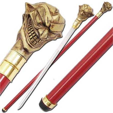 Double Faced Demon Sword Cane SW1103R