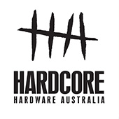 Hardcore Hardware Knives