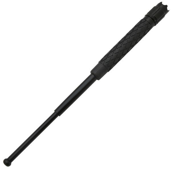 LED Light Expandable Baton, Rubber Handle, 26 inches