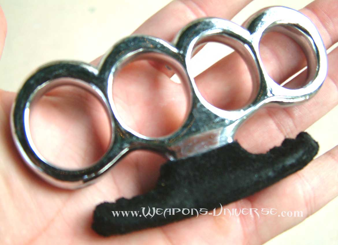 Mafia Brass Knuckles, Chrome