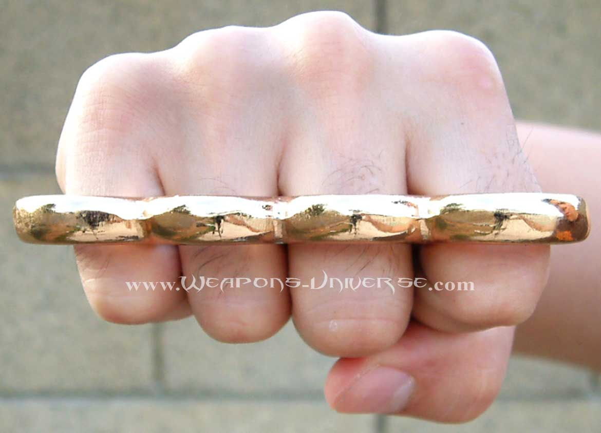 Gold Mafia Knuckles