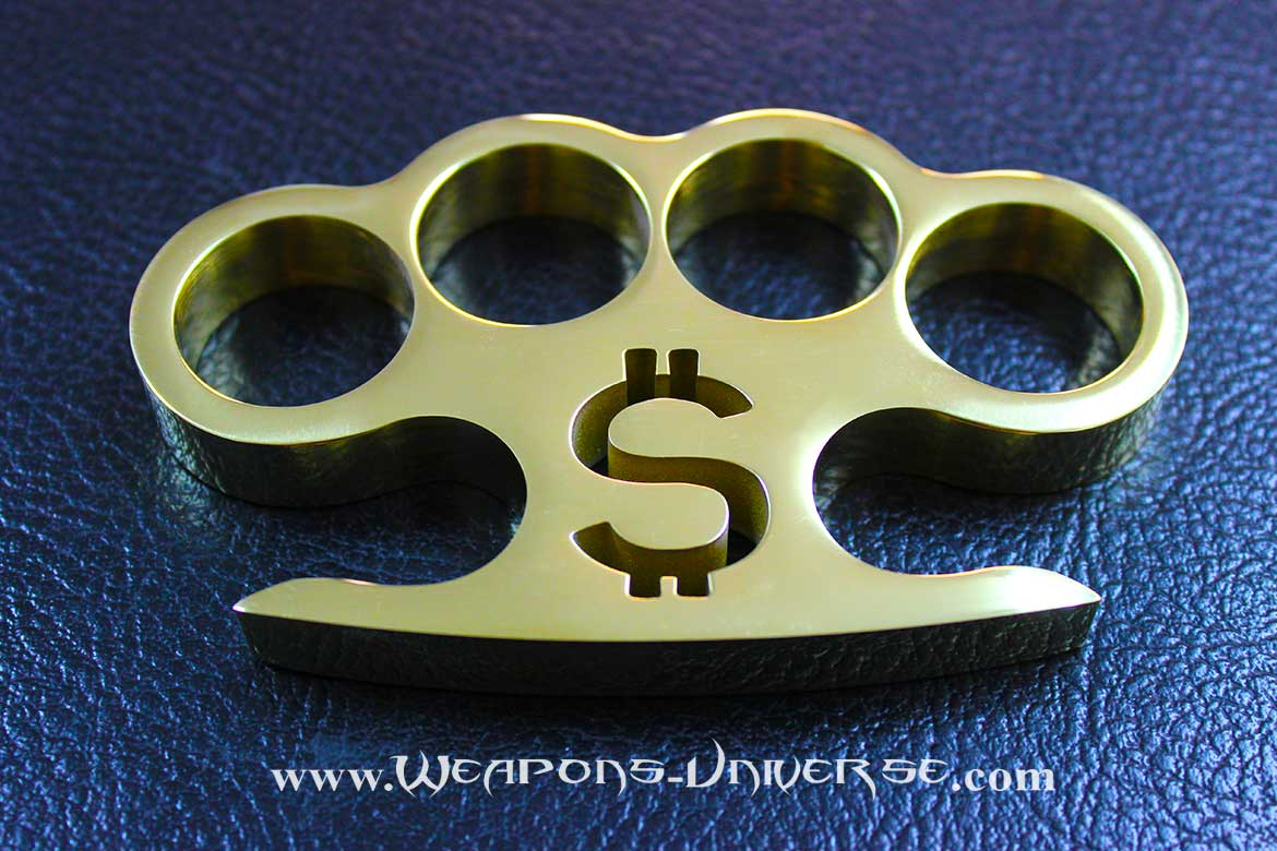 Pay Up Real Brass Knuckles