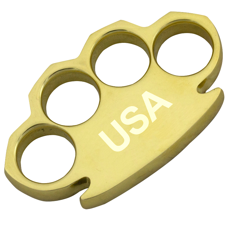 Real Brass Knuckles, Heavy Duty, USA