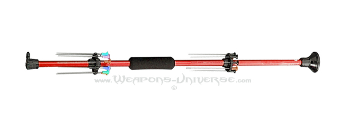 Red Blowgun, .40 Caliber, 18 inches
