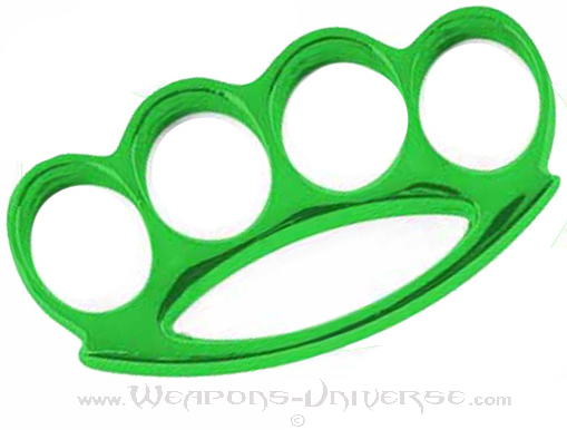 Renegade Brass Knuckles, Green, Medium