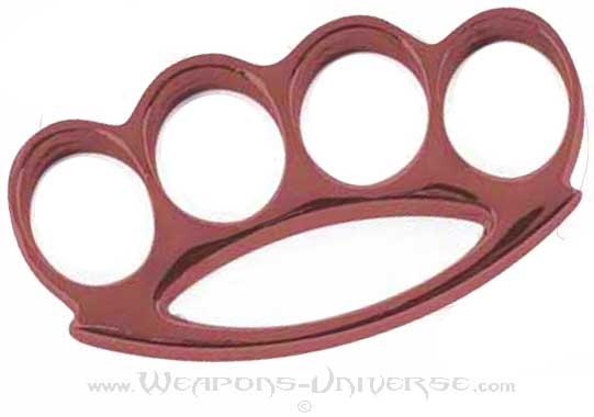 Renegade Brass Knuckles, Maroon, Medium