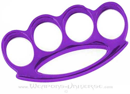 Renegade Brass Knuckles, Purple, Medium
