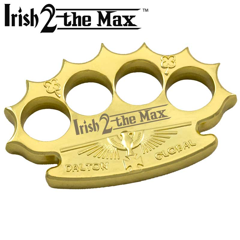 Robbie Dalton Irish 2 The Max Brass Knuckles, Gold