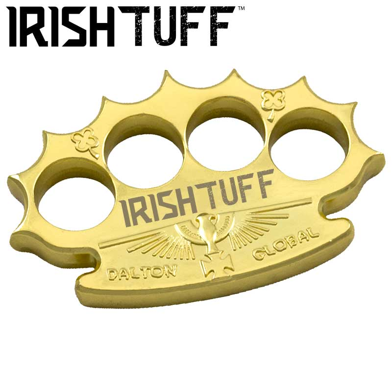 Robbie Dalton Irish Tuff Brass Knuckles, Gold