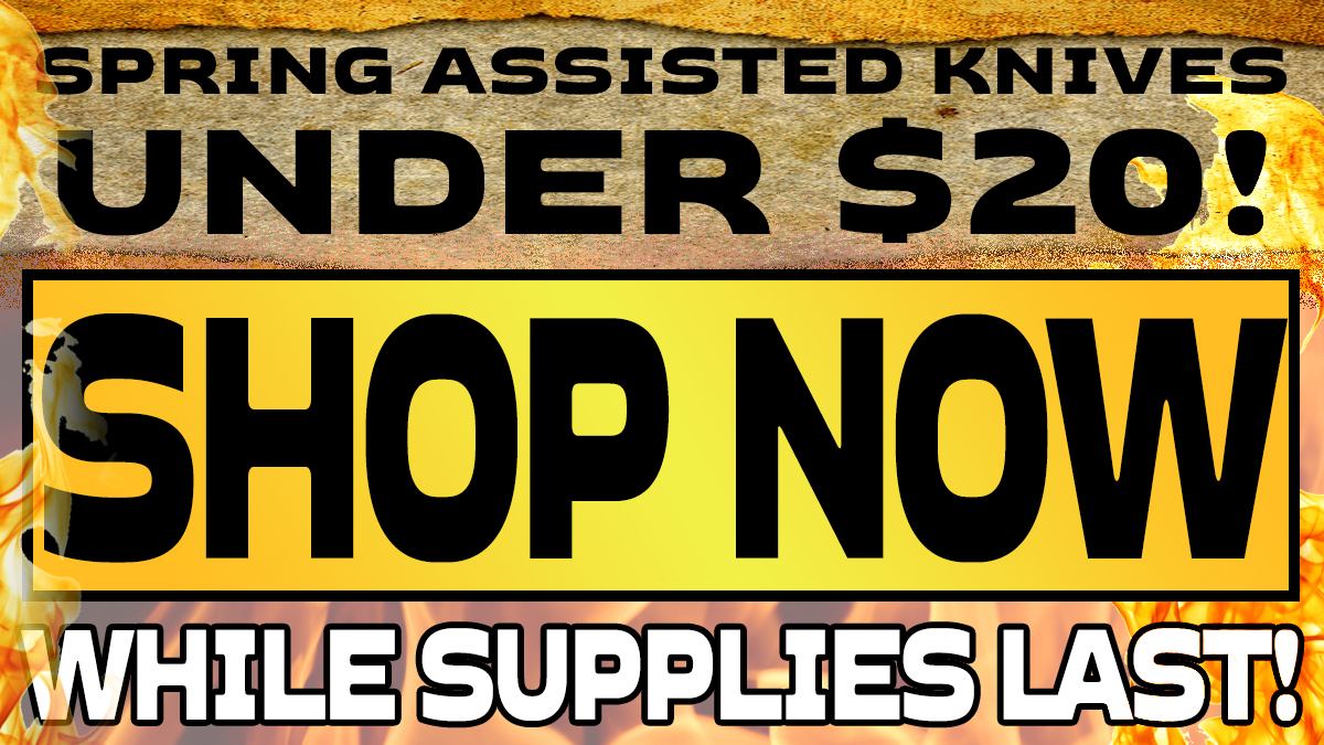 Spring Assisted Knives For Under $20!