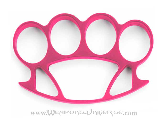 Thug Brass Knuckles, Pink, Medium