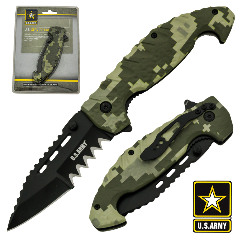 U.S. Army Official Spring Assisted Tactical Knife