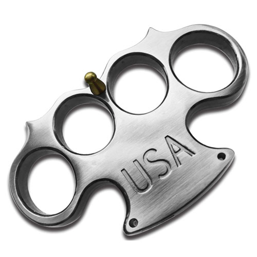 USA Brass Knuckles, Silver